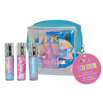 Picture of Tie Dye Mini Lip Gloss Set