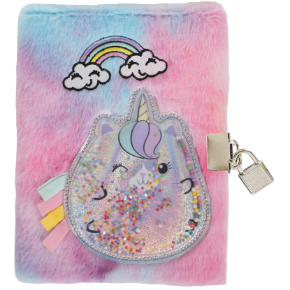 Picture of Caticorn Lock and Key Furry Journal