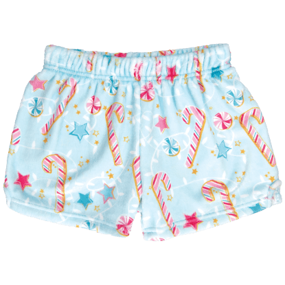 Picture of Candy Canes Plush Shorts
