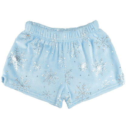 Picture of Snowflakes Plush Shorts