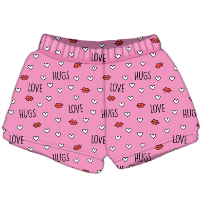 Picture of Love and Hugs Plush Shorts