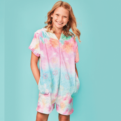 Picture of Cotton Candy Plush Romper