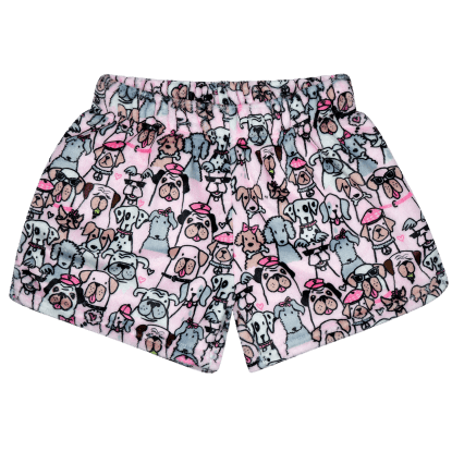 Picture of Puppy Love Plush Shorts