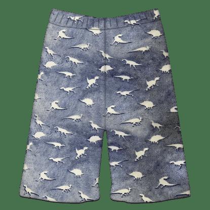 Picture of Dinosaur Tracks Glow Plush Shorts