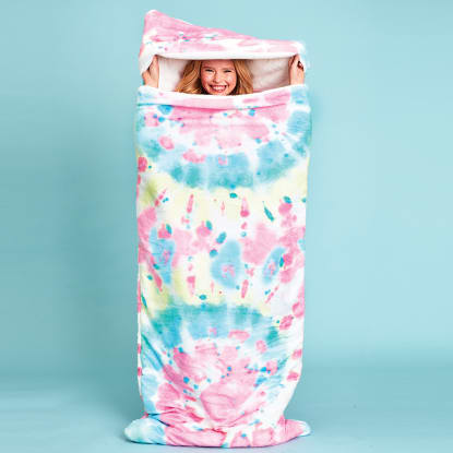 Picture of Swirl Tye Dye Sleeping Bag