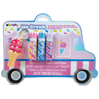 Picture of Ice Cream Truck Lip Balm and Gloss Set