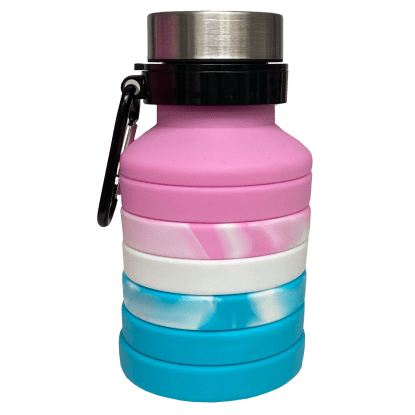 Picture of Pink Ombre Collapsible Water Bottle