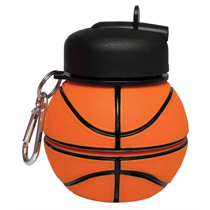 Picture of Basketball Collapsible Water Bottle