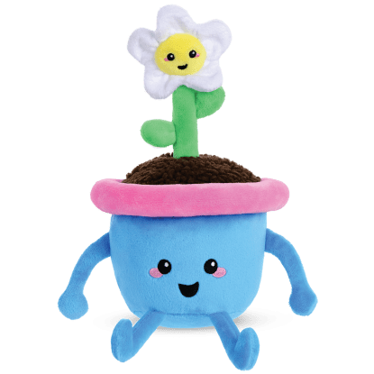 Picture of Flower Pot Fleece Pillow