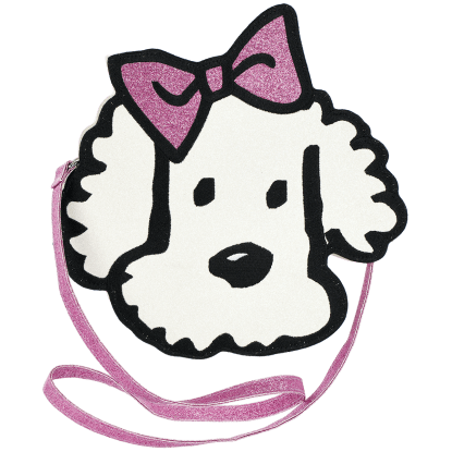 Picture of Puppy Love Glitter Crossbody Bag