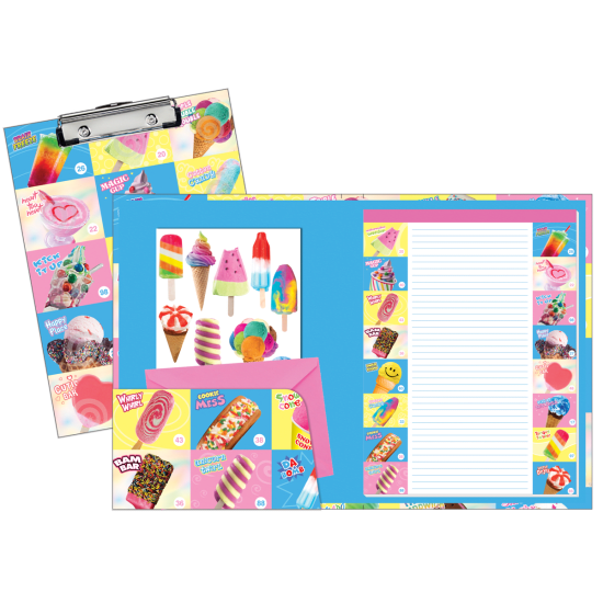 Picture of Frozen Delights Clipboard Set