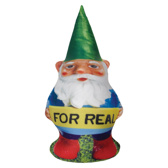 Picture of For Real Gnome Microbead Pillow