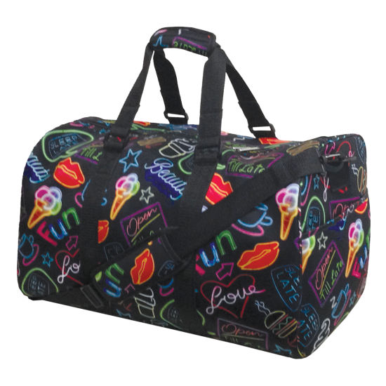 Picture of Neon Fun Duffle Bag