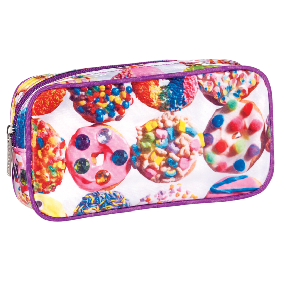 Picture of Assorted Donuts Small Cosmetic Bag