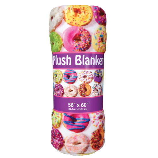 Picture of Assorted Donuts Plush Blanket
