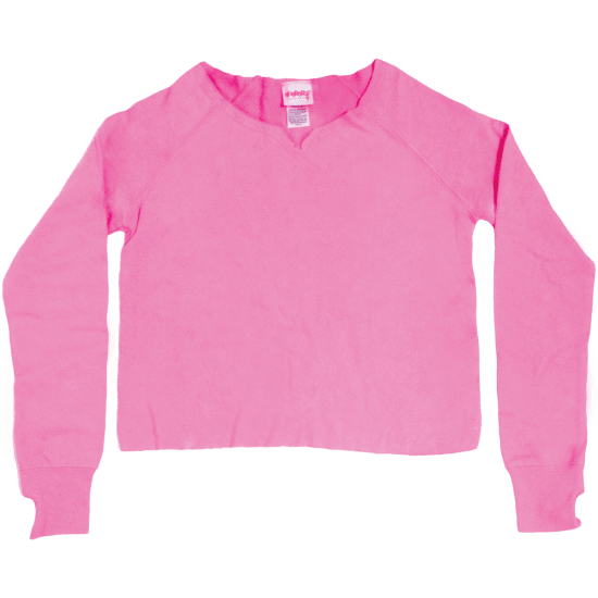 Picture of Pink Cut-Off Sweatshirt