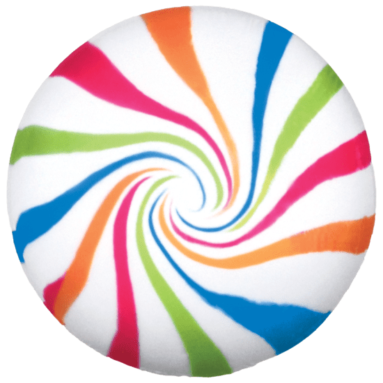 Picture of Candy Swirl Scented Microbead Pillow
