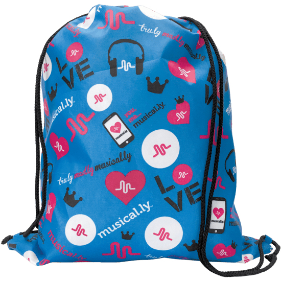Picture of Musical.ly™ Love Drawstring Bag