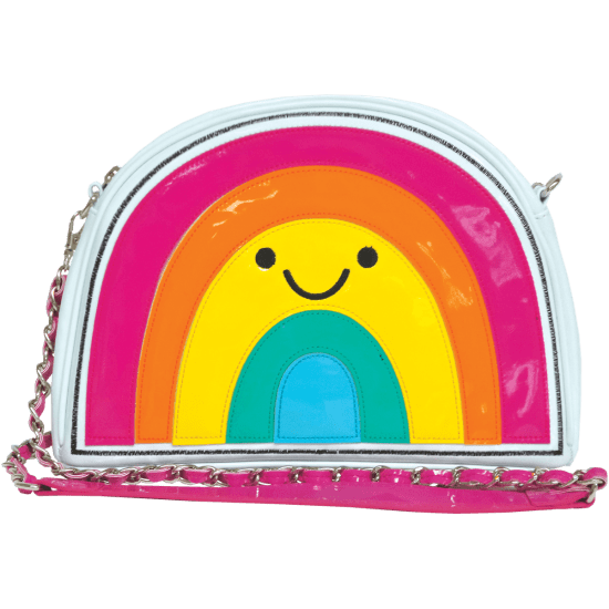 Picture of Rainbow with a Smile Crossbody Bag