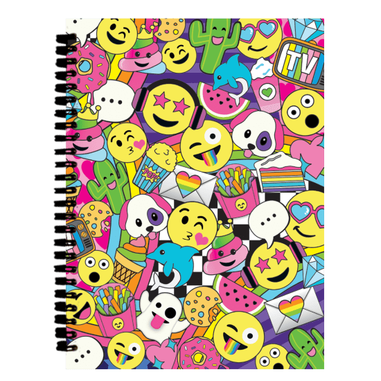 Picture of Emoji Party 3D Journal