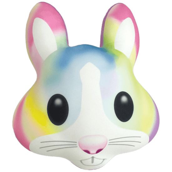 Picture of Bunny Emoji Pillow