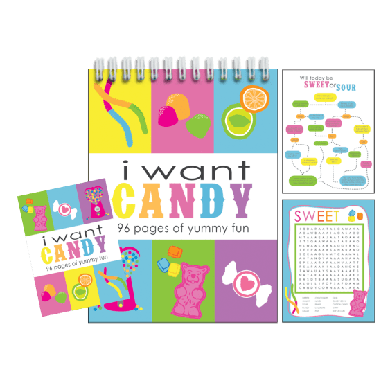 Picture of I Want Candy Activity Book