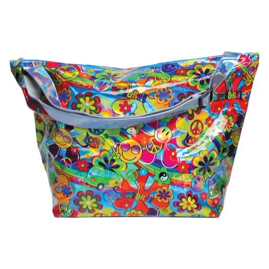 Picture of Hippie Love Holographic Weekender Bag