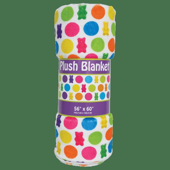 Gummy Bears Plush Blanket