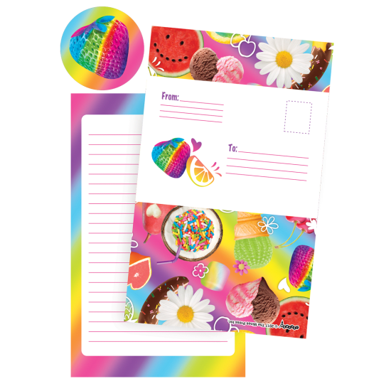 Picture of Tutti Fruiti Foldover Cards