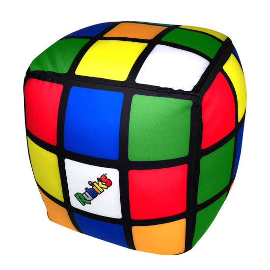 Picture of Rubik's® Cube Microbead Pillow