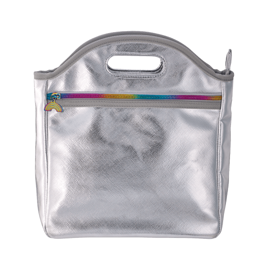 Picture of Silver Metallic Lunch Tote