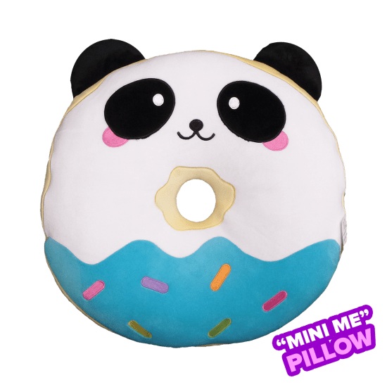 Picture of Mini Panda Donut Scented Foodie Pillow