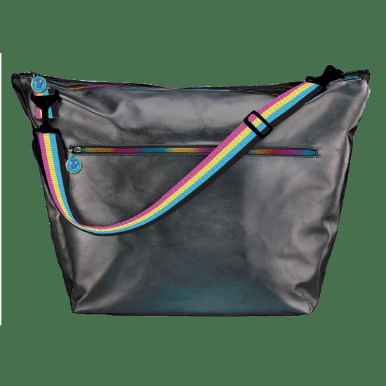 Picture of Black Metallic Weekender Bag