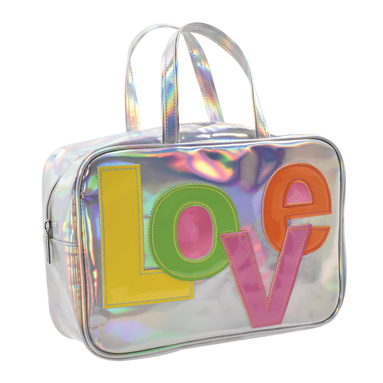 Picture of Love Patch Large Cosmetic Bag