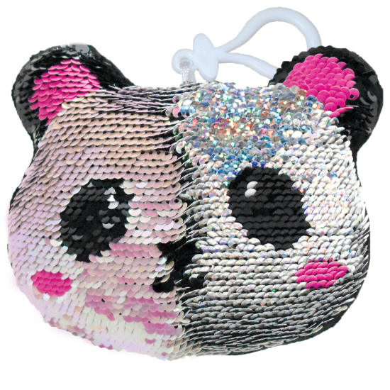 Picture of Panda Reversible Sequin Squishem