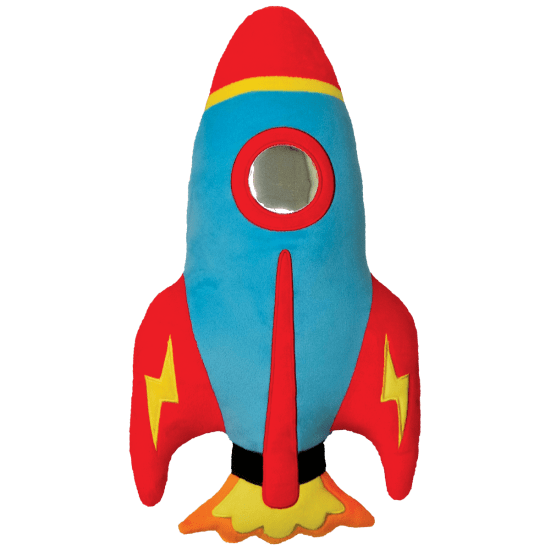 Picture of Rocket Scented Embroidered Pillow