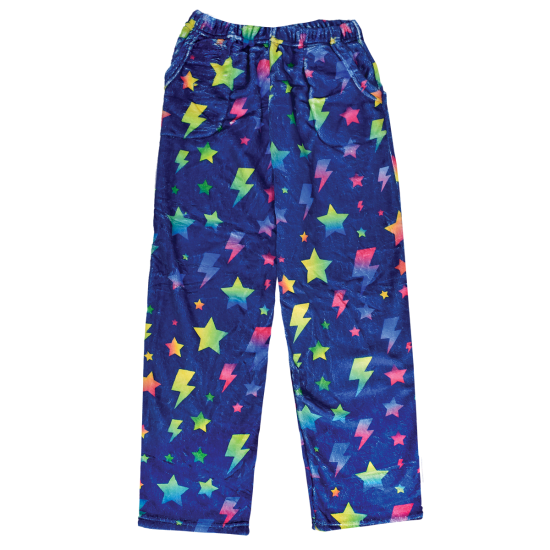 Picture of Stars and Lightning Plush Pants