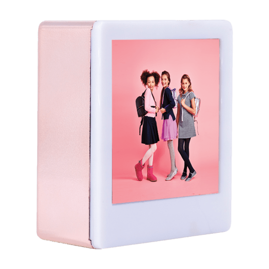 Photo Rose Gold Light Box