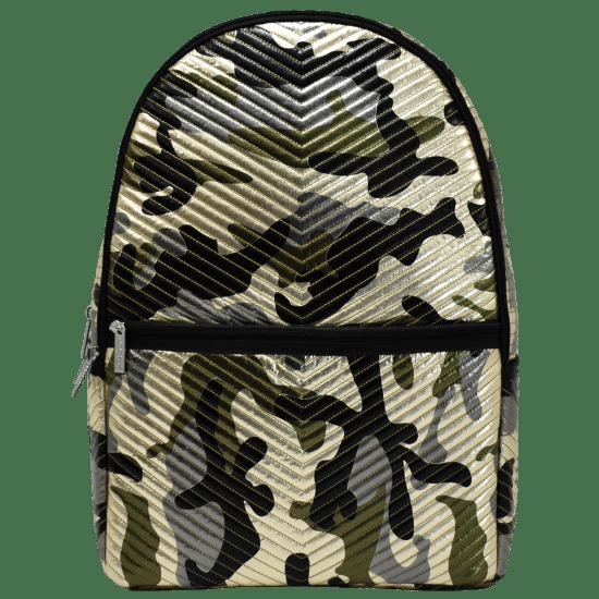 Picture of Metallic Camo Chevron Backpack