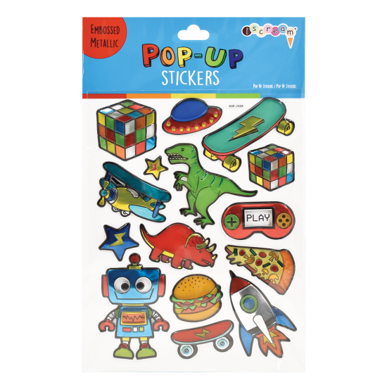 Picture of Toys and More Pop-Up Stickers