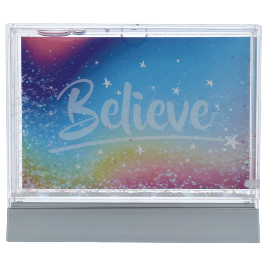 Picture of Color Changing Glitter Picture Frame