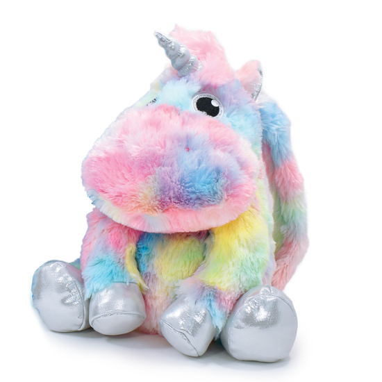 Picture of Unicorn Tie Dye Furry Backpack