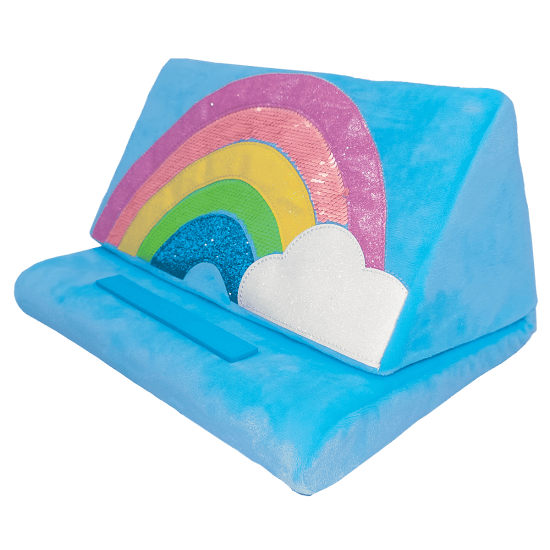 Picture of Rainbow and Glitter Tablet Pillow