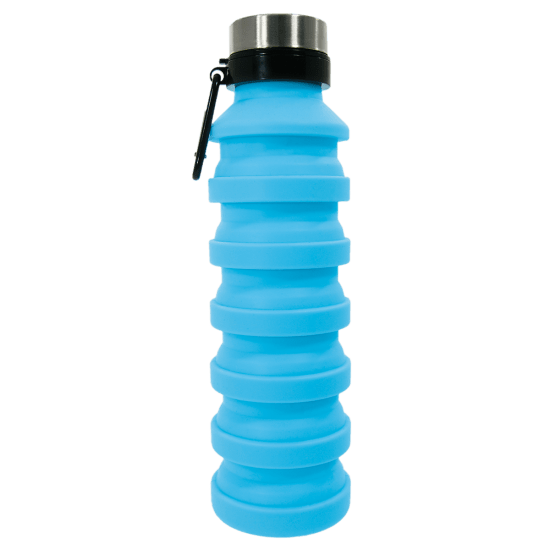 Picture of Light Blue Collapsible Water Bottle