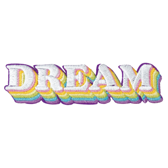 Picture of Dream Embroidered Sticker Patch