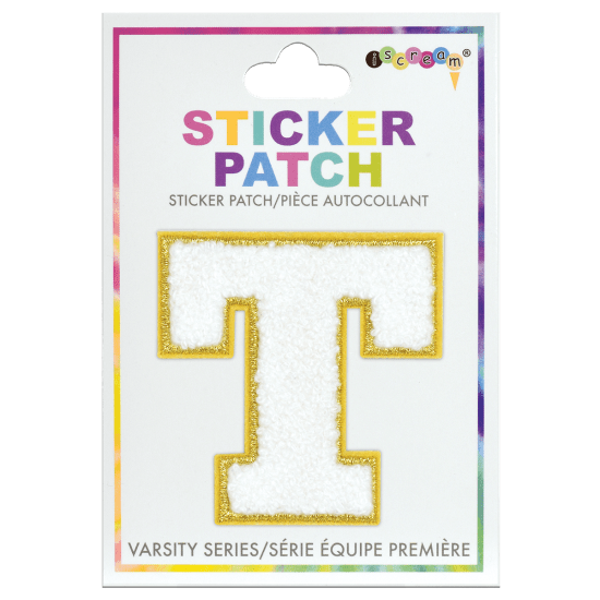 Picture of T Initial Varsity Sticker Patch