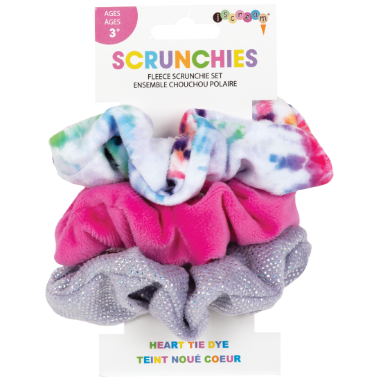 Picture of Heart Tie Dye Scrunchie Set