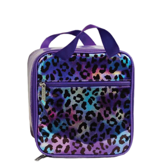 Picture of Iridescent Leopard Lunch Tote