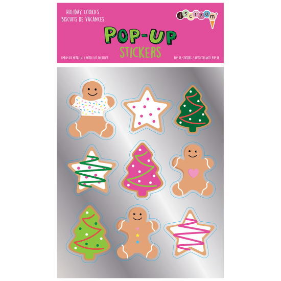 Picture of Holiday Cookies Pop-Up Stickers