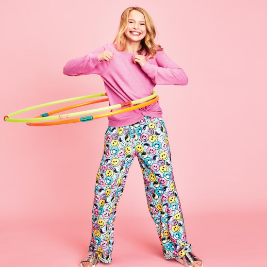 Picture of Be All Smiles Plush Pants